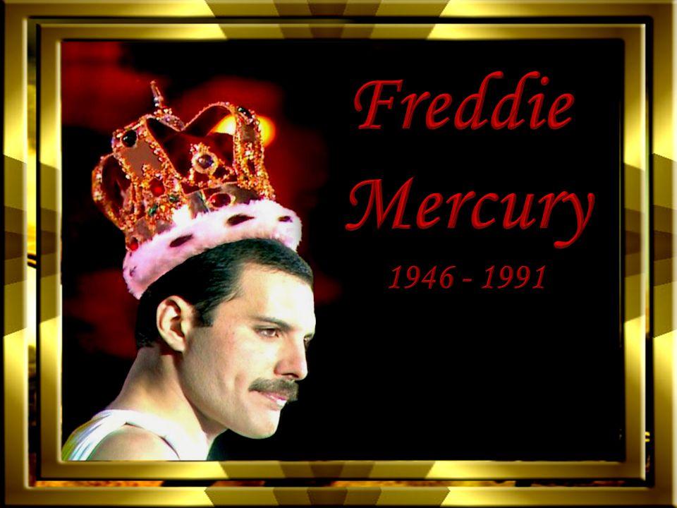 Freddie Mercury született Farrokh Bulsara, 1946.szeptember 5.