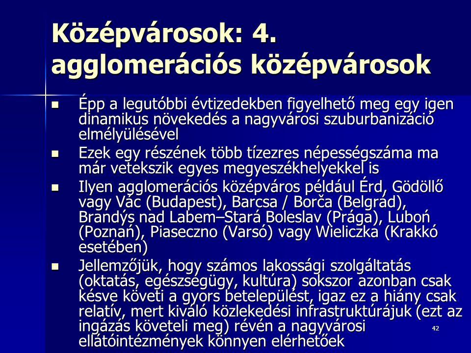 42 Középvárosok: 4.
