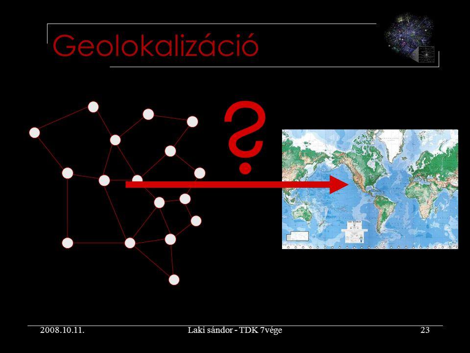 2008.10.11.Laki sándor - TDK 7vége23 Geolokalizáció