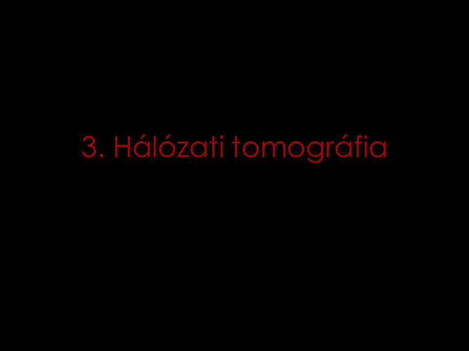 3. Hálózati tomográfia
