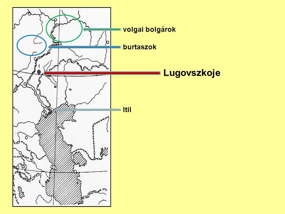 Lugovszkoje Itil volgai bolgárok burtaszok