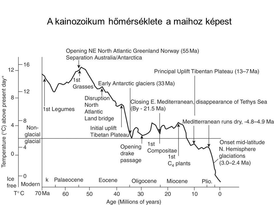 Figure 05 A kainozoikum hőmérséklete a maihoz képest