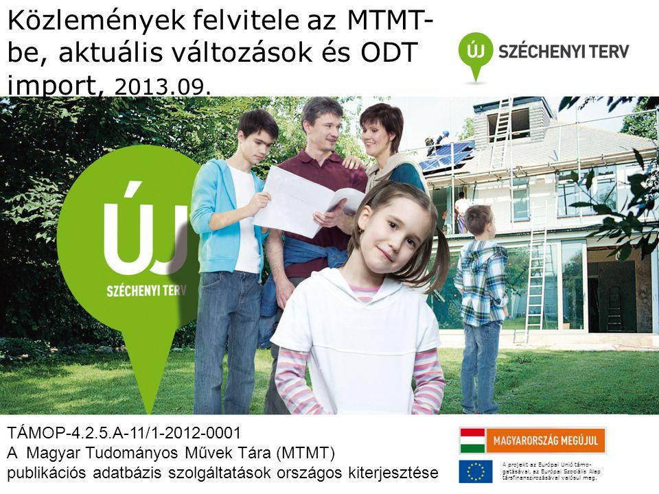 Belépés az ODT adatbázisba 1 0.Elérés: http://www.doktori.hu, 1.