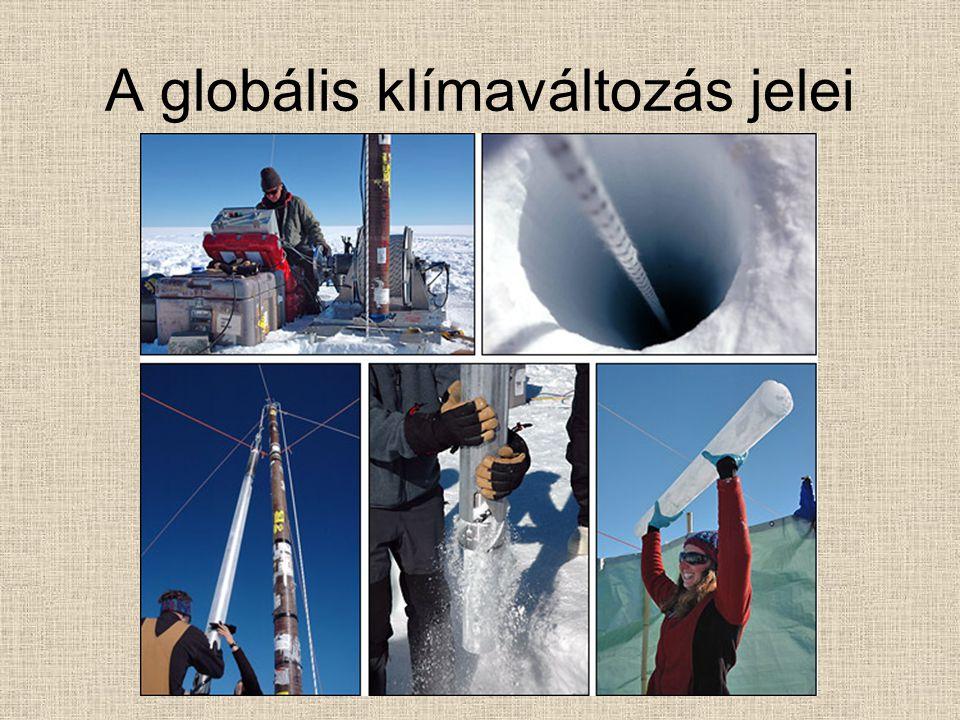 A globális klímaváltozás jelei