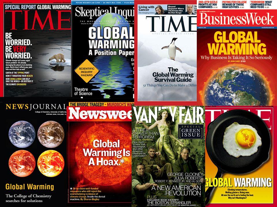 A globális klímaváltozás jelei A fagyok rövidebb ideig tartanak, vagy elmaradnak