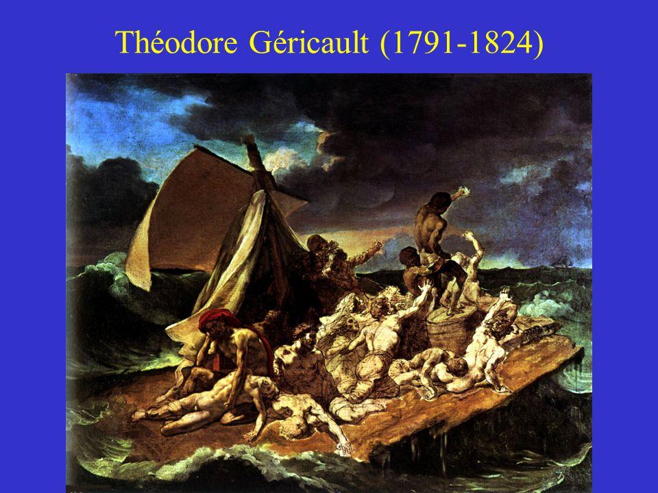 Romantika a festészetben Théodore Géricault (1791-1824) Eugene Delacroix (1798-1863) Caspar David Friedrich (1774-1840) John Constable (1776-1837) Joh