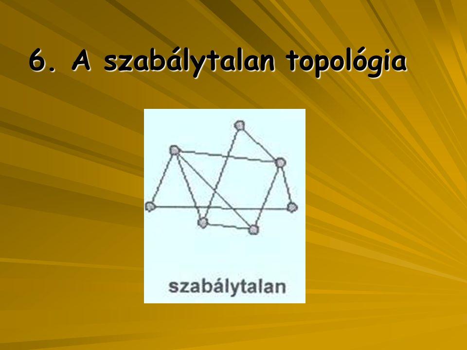 6. A szabálytalan topológia
