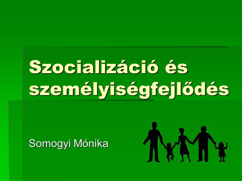 Előző órák  A pszichológia, mint tudomány  A fejlődés alapkérdései  Szocializáció, családi színtér http://coospace.etr.elte.hu