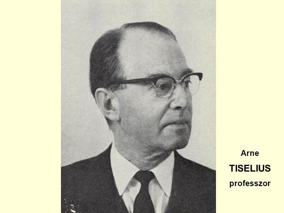 Arne TISELIUS professzor