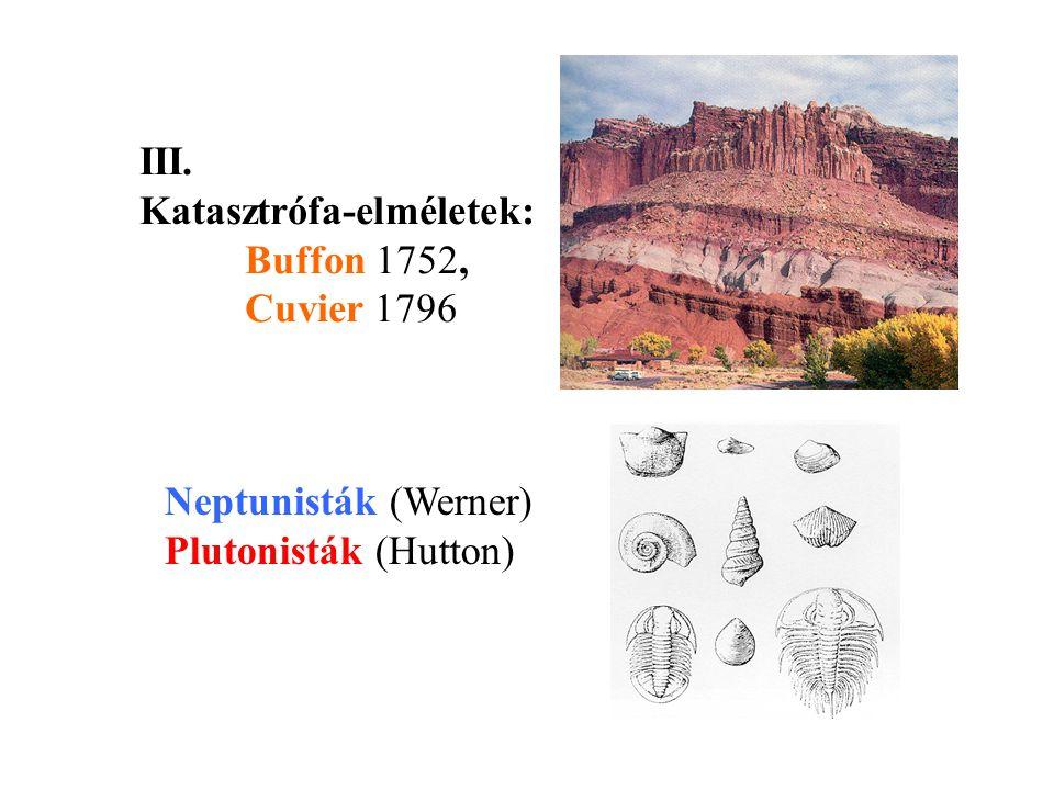 Collomb (1848) a jégárak, Rütimeyer (1869) a folyóvíz, Richthofen (1877) a szél felszínalakító munkáját bizonyította IV.
