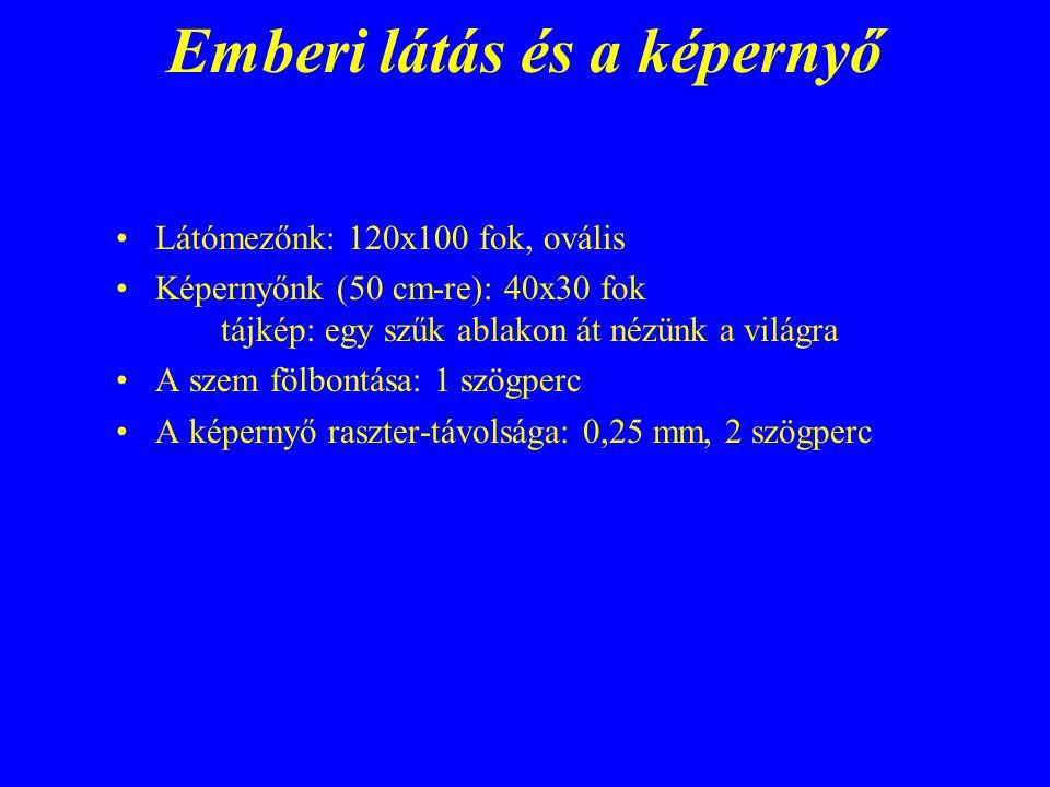6.3.Színterek geometrikus kódolása Leírónyelv (eseti teszt-leírás, vagy pl.