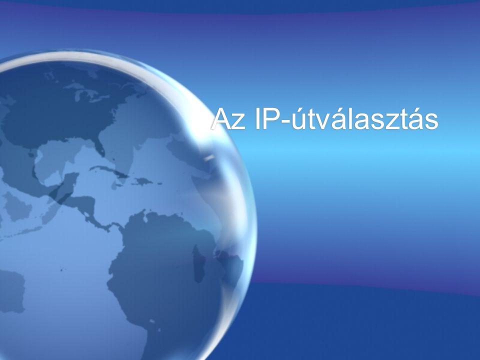 Az IP-útválasztás