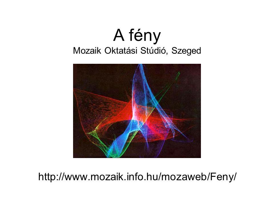 Animáció Alkalmazása A lényegét tekintve mozgó dolog sematikus ábrázolására