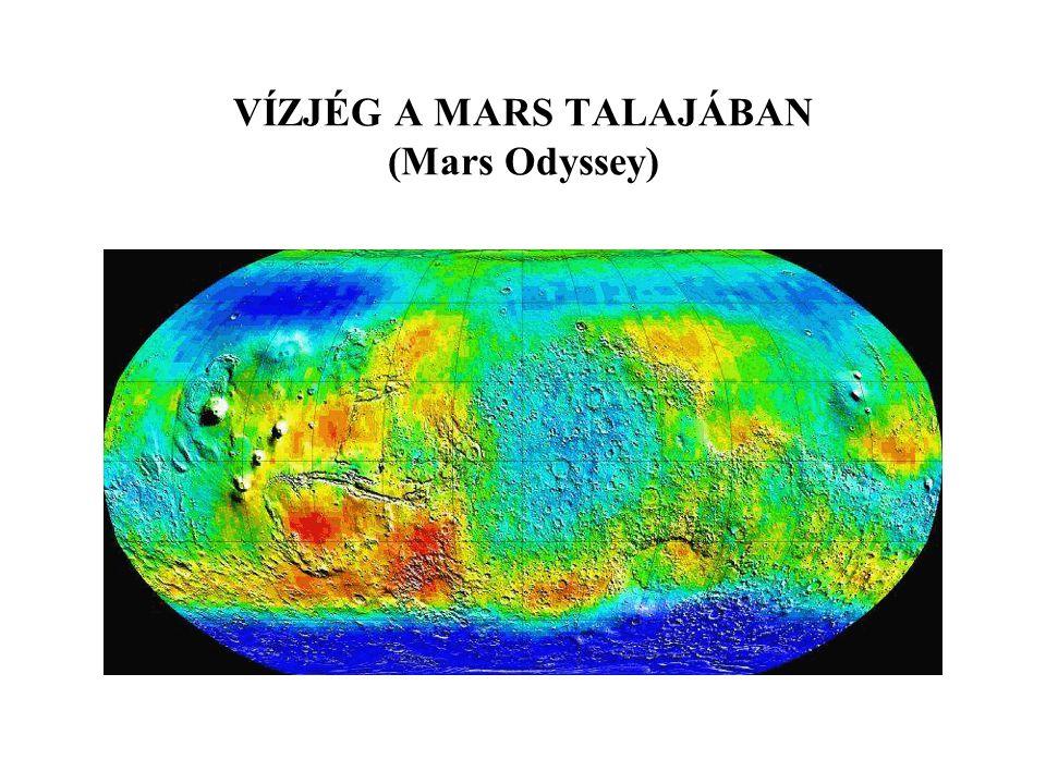 VÍZJÉG A MARS TALAJÁBAN (Mars Odyssey)
