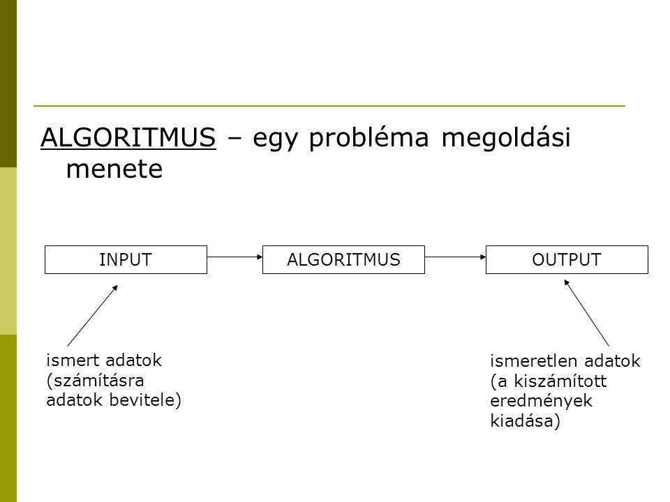 A program elkészítésének lépései  elemzés  tervezés  végrehajtás  ellenőrzés