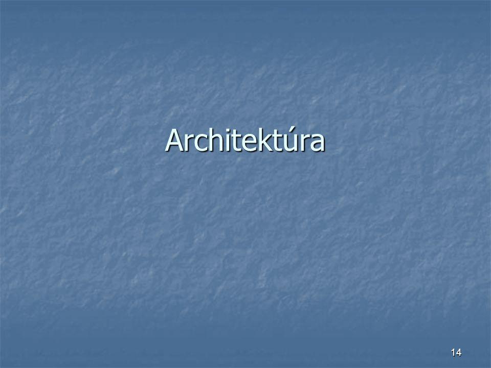 14 Architektúra