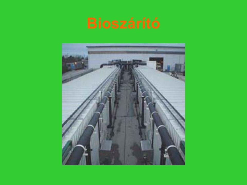 Bioszárító