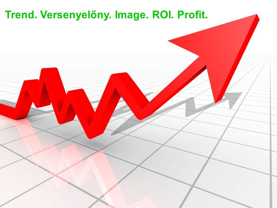 Trend. Versenyelőny. Image. ROI. Profit.