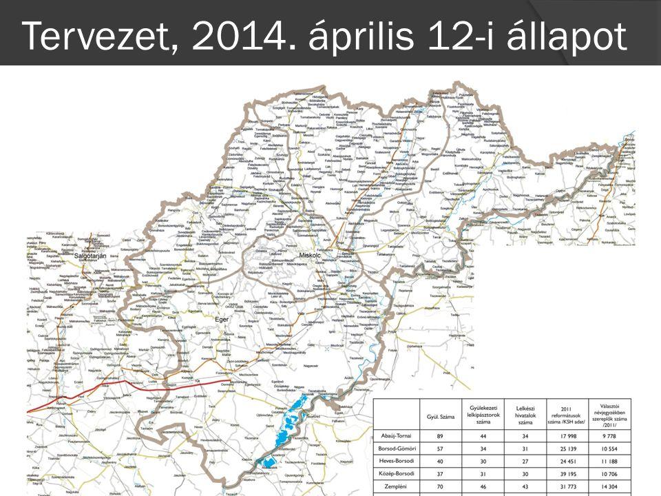 Tervezet, 2014. április 12-i állapot