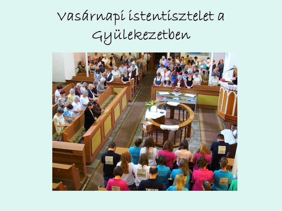 Hétf ő n…, miel ő tt a gyerekek megérkeznek, mi közös áhitattal és reggelivel indítjuk a napot.
