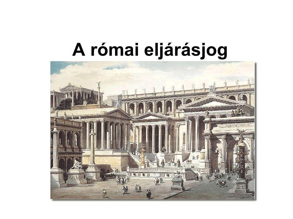 A római eljárásjog