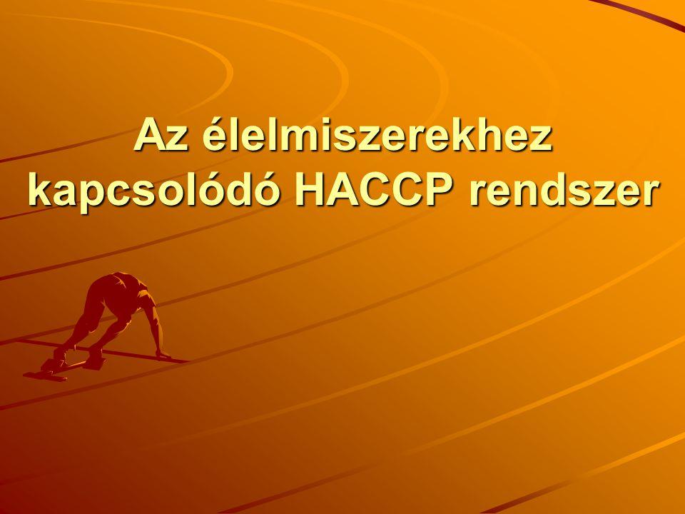 Az élelmiszerekhez kapcsolódó HACCP rendszer