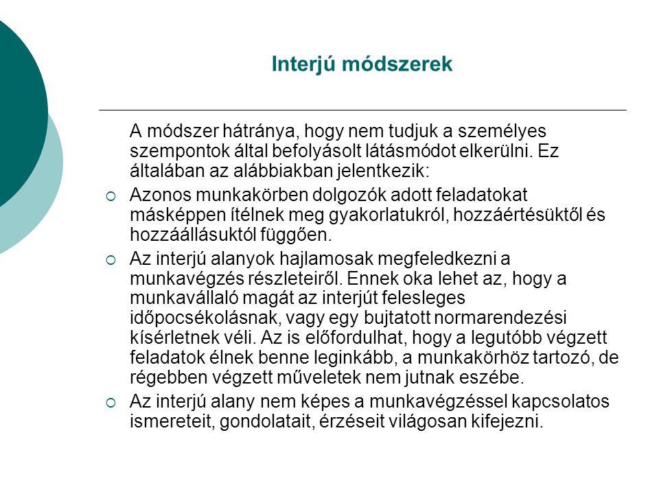 MUNKAKÖRI, SZEMÉLYÜGYI SPECIFIKÁCIÓ 1.