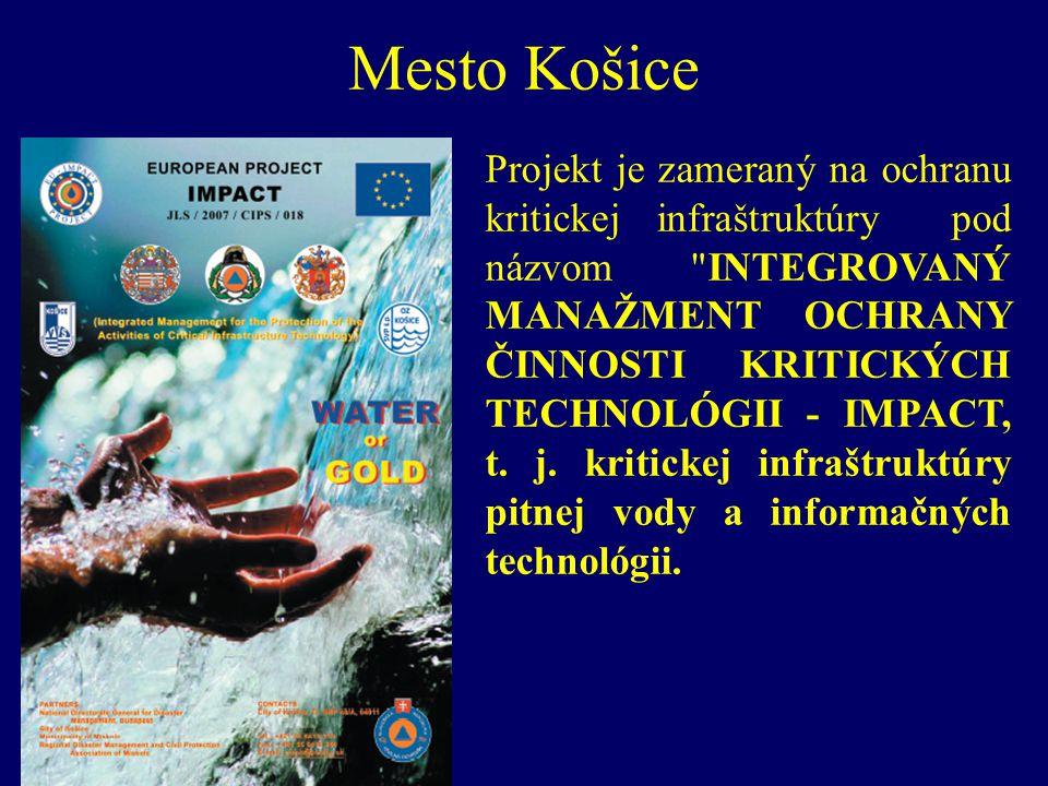 Projekt je zameraný na ochranu kritickej infraštruktúry pod názvom