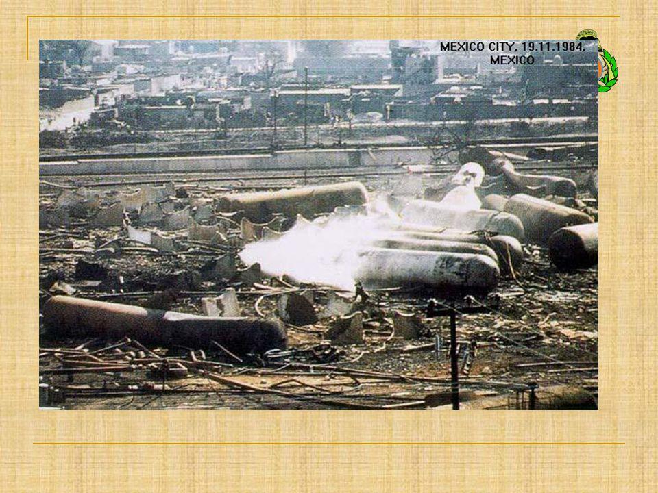 Az ipari és vegyi balesetek megelőzésének szabályozásához vezető balesetek Helyszín, időpontBaleset jellegeKövetkezmények Seveso, Olaszország 1976.