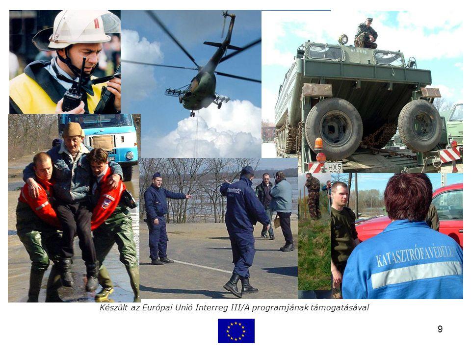9 Készült az Európai Unió Interreg III/A programjának támogatásával