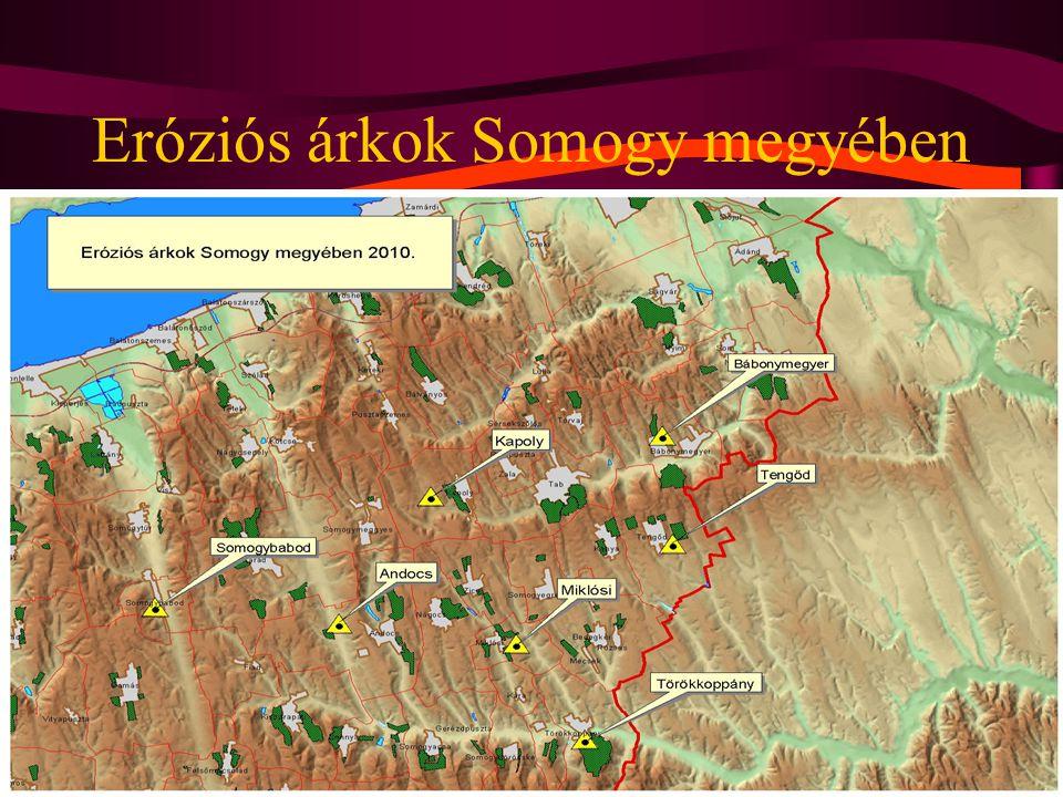 Eróziós árkok Somogy megyében