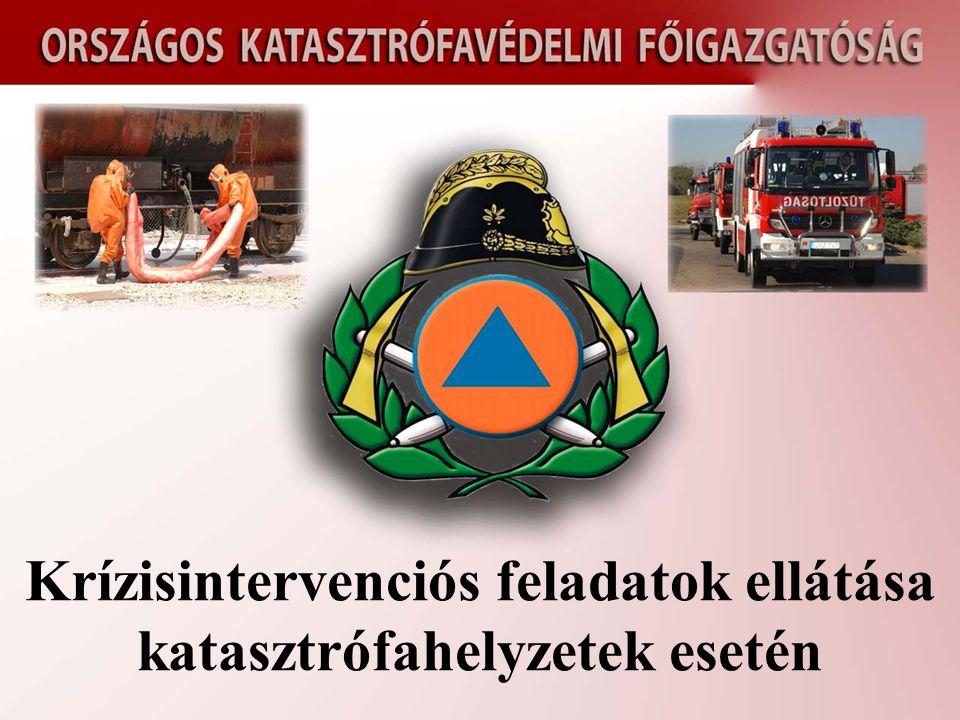 Krízisintervenciós feladatok ellátása katasztrófahelyzetek esetén