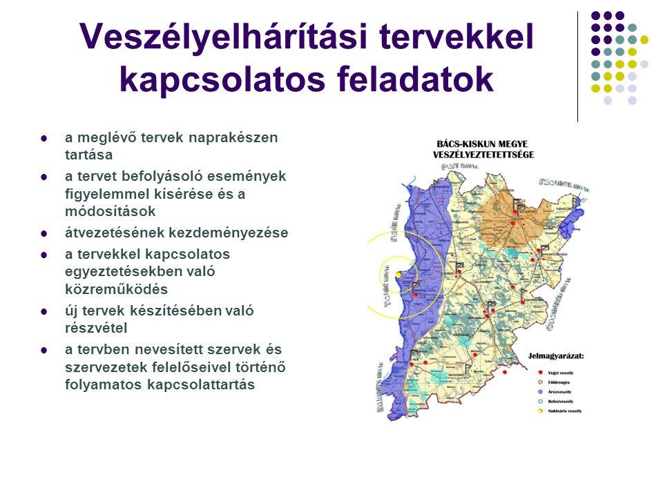 A katasztrófavédelmi felkészítésekkel (polgári védelmi szervezetekbe beosztott állampolgárok, közigazgatási vezetők) kapcsolatos feladatok szervezési, koordinációs feladatok a felkészítésen résztvevőkkel összefüggésben a felkészítések logisztikai biztosítása egyéni adottságoknak megfelelően érdemi részvétel az előadások megtartásában végzi a felkészítés adminisztrációját