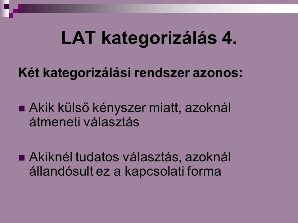 LAT kategorizálás 4.