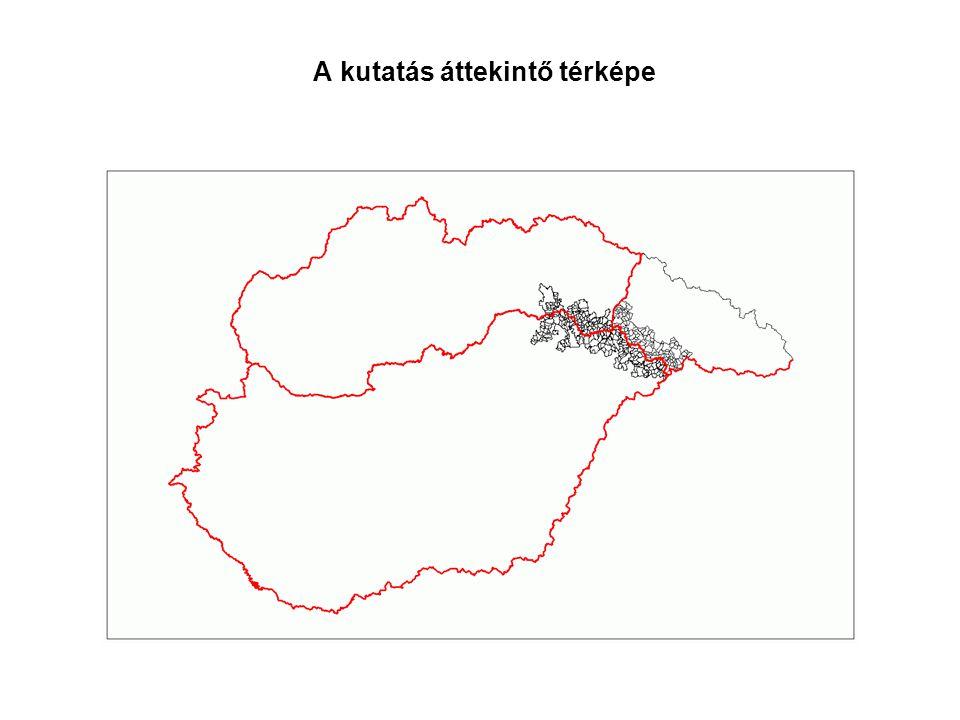 A kutatás áttekintő térképe