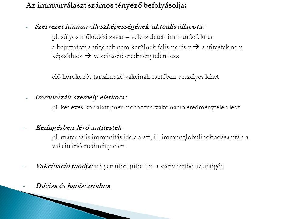 Külföldi utazásokkal kapcsolatos védőoltások -Kolera (vibrio cholerae) -Sárgaláz (febris flava) -Hepatitis -Poliomyelitis -gyermekbénulás -Typhus abdominalis és paratyphus -Oek -Az oltóhelyen nemzetközi oltási bizonyítványt, valamint magyar nyelvű oltási könyvet kell készíttetni -A külföldre utazó magyar állampolgárok sárgaláz elleni védőoltása kötelező, ha olyan országba utaznak, ahol sárgaláz veszély van, illetőleg ha az adott ország ezt az oltást megköveteli.