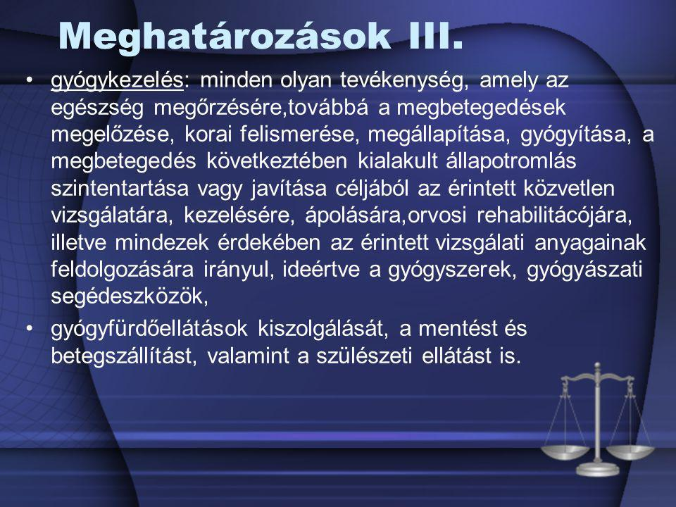 A beleegyezési és visszautasítási jog átruházása A cselekvőképes beteg, és a 16.