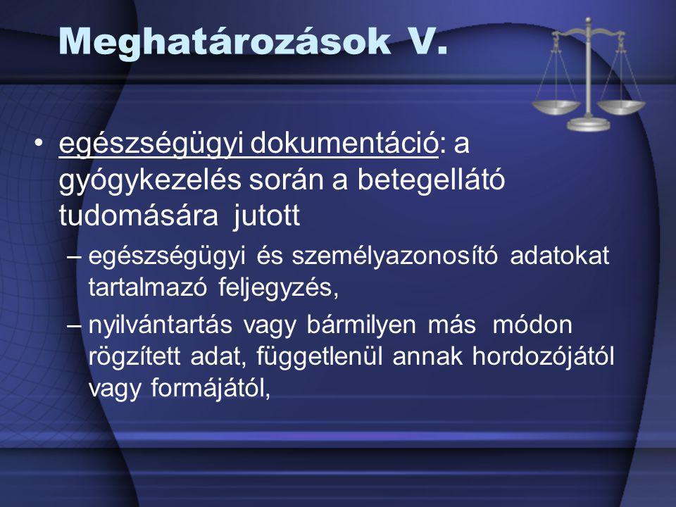 Az ápolási dokumentáció alkalmazásának indoklása II.