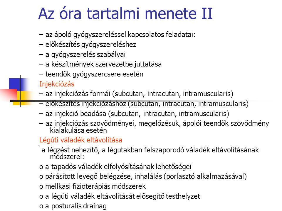 A központi idegrendszer gyógyszertana 2.