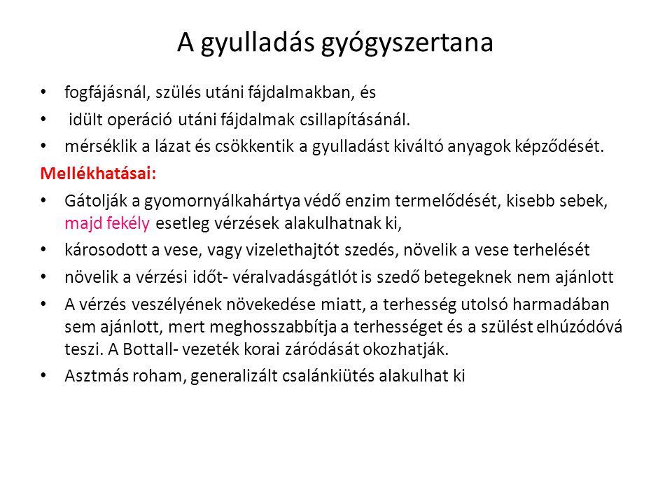 A belső elválasztású mirigyek gyógyszertana Hormonpótló készítmények: - levotyroxin: Eltroxin tbl., Euthyrox tbl., Thyrax tbl., l-thyroxin tbl., Letrox tbl.
