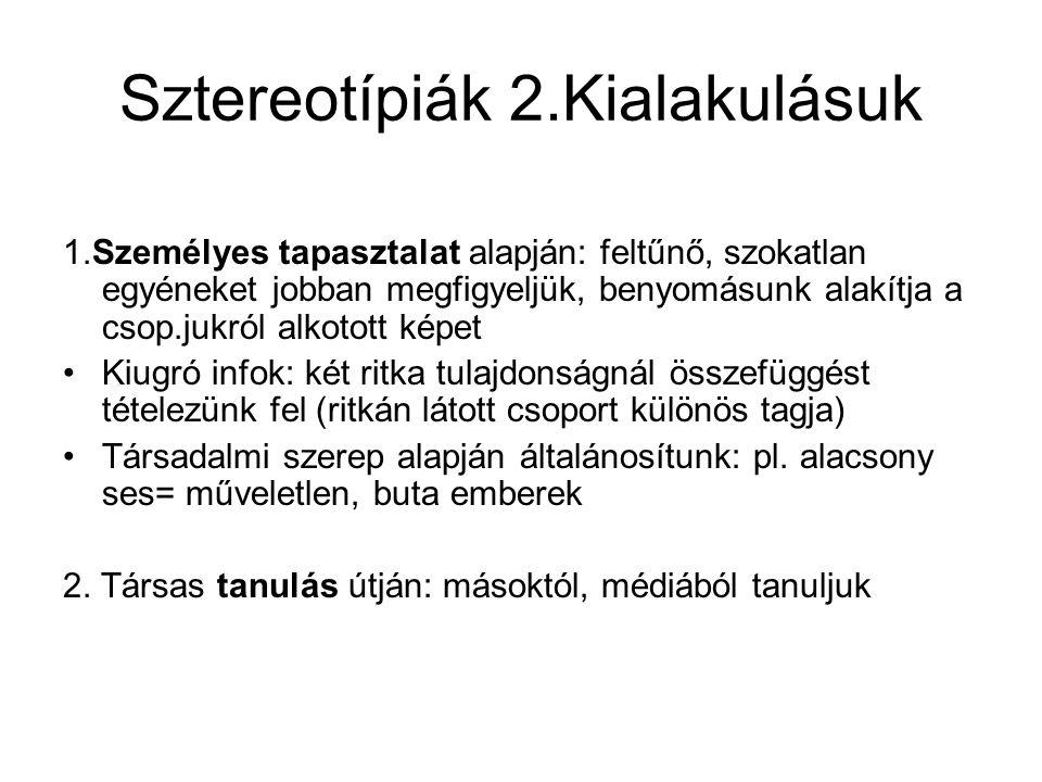 Sztereotípiák 3.