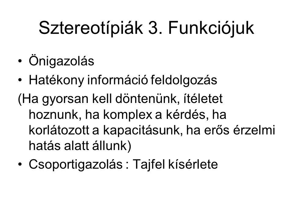 Sztereotípiák 4.