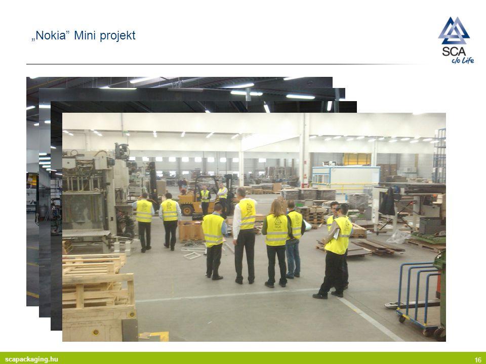 "scapackaging.hu 16 ""Nokia Mini projekt"