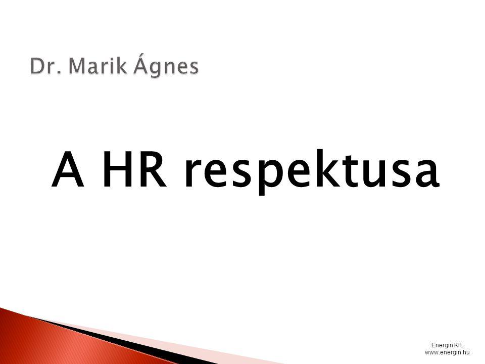 A HR respektusa Energin Kft. www.energin.hu