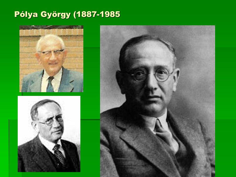 Pólya György (1887-1985