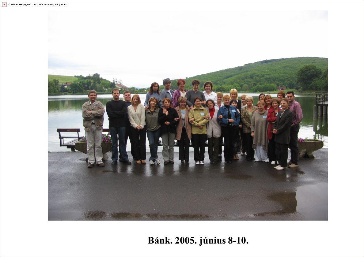 Kapcsolattartás a VRONY területi képviselőkkel 2009.