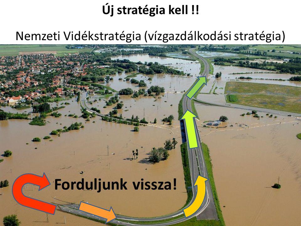 Forduljunk vissza! Új stratégia kell !! Nemzeti Vidékstratégia (vízgazdálkodási stratégia)