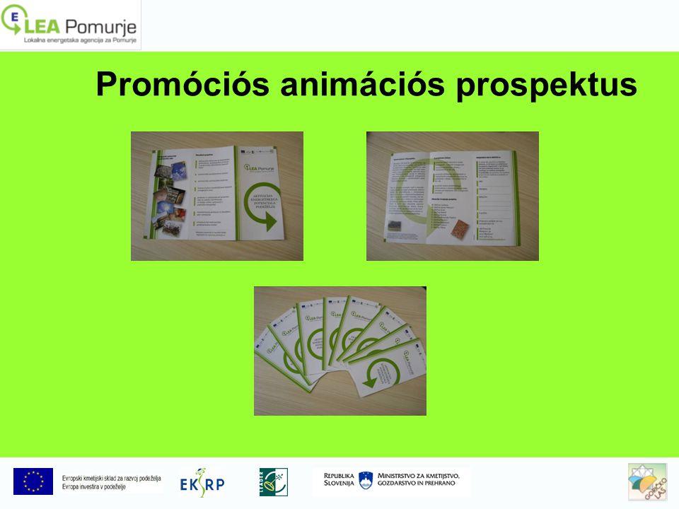 Promóciós animációs prospektus