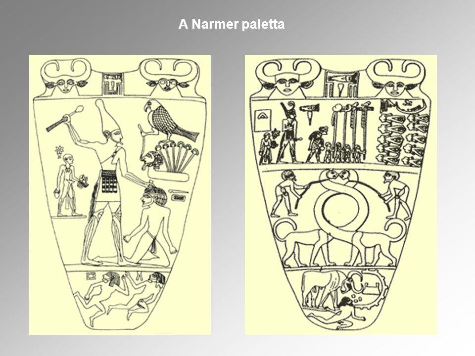 Fehér korona, Felső - Egyiptom Vörös korona, Alsó - Egyiptom Kettős korona, egyesített Egyiptom Az egyesített Egyiptom királyi koronája Felső és Alsó – Egyiptom koronáiból jött létre.