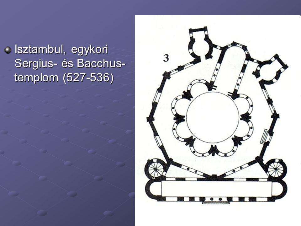 Isztambul, egykori Sergius- és Bacchus- templom (527-536)